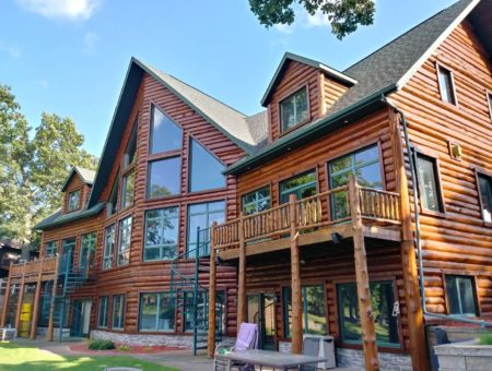 Staining, Painting, and Log Home Care